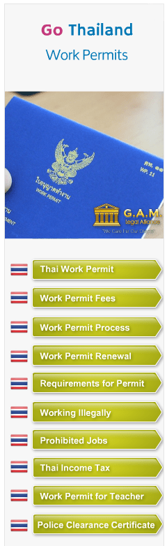 work permits in Thailand