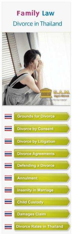 Getting Divorced in Thailand