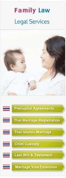 Thai Family Lawyer